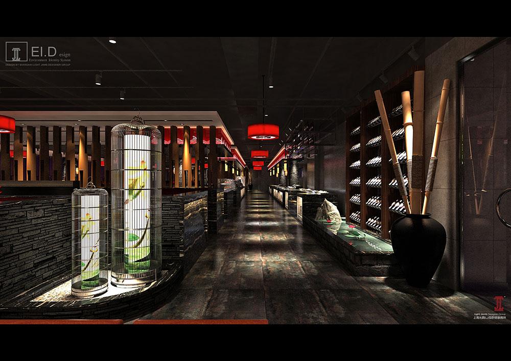 尚水元滕州店设计方案--餐厅&酒楼-上海光磊文化传播
