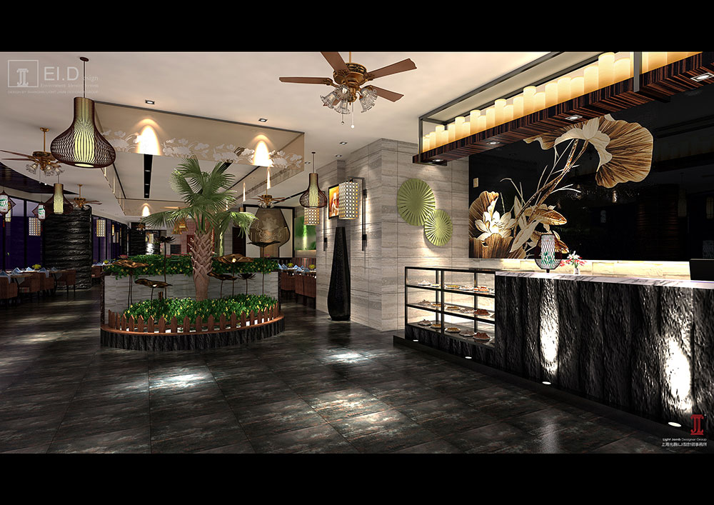 日越轩烟台大悦城店设计方案--餐厅&酒楼-上海光磊